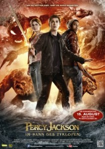 """Das Hauptplakat von """"Percy Jackson: Im Bann des Zyklopen"""" (Quelle: 20th Century Fox)"""