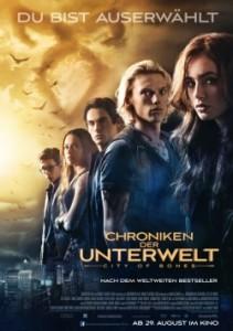 """Das Hauptplakat von """"Chroniken der Unterwelt"""" (Quelle: Constantin Film)"""