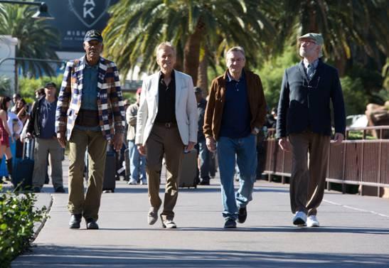 Vier alte Haudegen machen Vegas unsicher (Quelle: Universal Pictures)