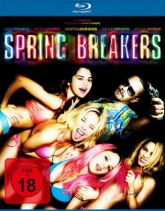 "Das Blu-ray-Cover von ""Spring Breakers"" (Quelle: Universum Film)"