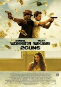 """Das Kinoplakat von """"2 Guns"""" (Quelle: Sony Pictures)"""