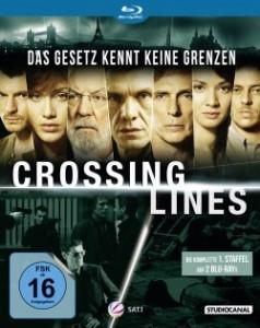 """Das Blu-ray-Cover von der ersten Staffel """"Crossing Lines"""" (Quelle: StudioCanal)"""