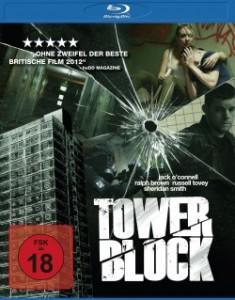"""Das Blu-ray-Cover von """"Tower Block"""" (Quelle: Universum Film)"""