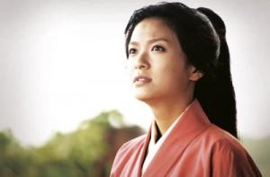 Prinzessin Kaihime fürchtet um die Zukunft der Festung Oshi. (Quelle: Pandastorm Pictures)