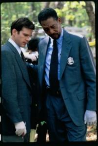 Alex Cross besichtigt einen Tatort (Quelle: Paramount Home Entertainment)