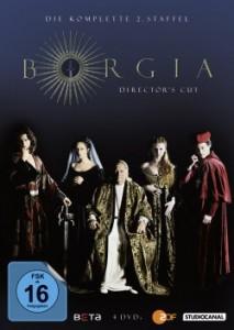 "Das DVD-Cover der zweiten Staffel ""Borgia"" (Quelle:StudioCanal)"