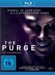 "Das Blu-ray-Cover von ""The Purge"" (Quelle: Universal Pictures)"