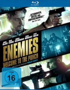 "Das Blu-ray-Cover von ""Enemies - Welcome to the Punch"" (Quelle: Universum Film)"