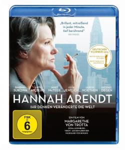 "Das Blu-ray-Cover von ""Hannah Arendt"" (Quelle: NFP)"