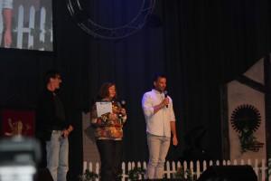 Stephen Ure, Lori Dungey und Craig Parker
