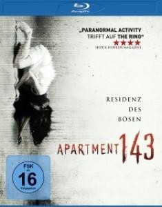 """Das Blu-ray-Cover von """"Apartment 143"""" (Quelle: Universum Film)"""