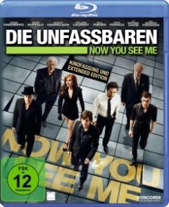 """Das Blu-ray Cover von """"Die Unfassbaren"""" (Quelle: Concorde Home Entertainment)"""
