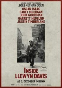 """Das deutsche Plakat von """"Inside Llewyn Davis"""" (Quelle: StudioCanal)"""