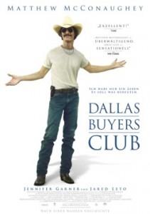 """Das Plakat von """"Dallas Buyers Club"""" (Quelle: Ascot Elite)"""