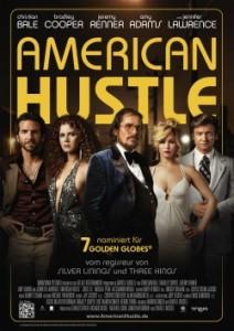 """Das Plakat von """"American Hustle"""" (Quelle: Tobis Film)"""