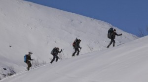 Die fünf Studenten beim Aufstieg (Quelle: Ascot Elite)