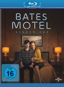"Das Blu-ray Cover von ""Bates Motel Staffel 1"" (Quelle: Universal Pictures Germany)"