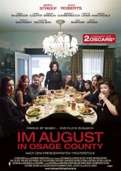 "Das Plakat von ""Im August in Osage County"" (Quelle: Tobis Film)"