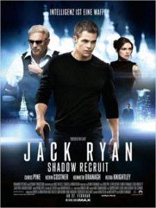 "Das Plakat von ""Jack Ryan - Shadow Recruit"" (Quelle: Paramount Pictures)"