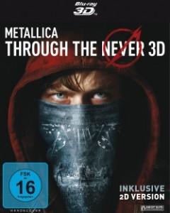 "Das Blu-ray-Cover von ""Metallica - Through the Never"" (Quelle: Ascot Elite)"