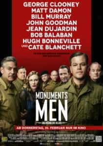 "Das Kinoplakat der ""Monuments Men"" (Quelle: 20th Century Fox)"