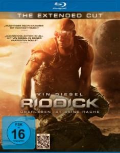 """Das Blu-ray-Cover von """"Riddick - Überleben ist seine Rache"""" (Quelle: Universum Film)"""