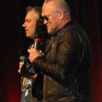 Michael Rooker mit Moderator (Bild: Thomas Trierweiler)