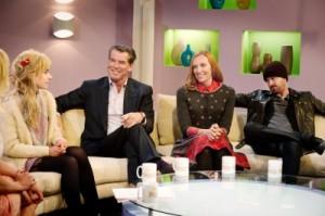 In Talkshows werden die Vier ausgequetscht (Quelle: DCM)