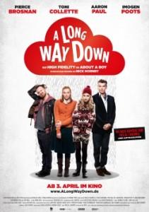 "Das Poster von ""A Long Way Down"" (Quelle: DCM)"