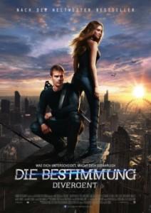 """Das Kinoplakat von """"Die Bestimmung - Divergent"""" (Quelle: Concorde Film)"""