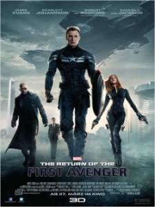 "Das Plakat von ""Captain America 2: Return Of The First Avenger"" (Quelle: Disney Germany)"
