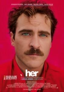 """Das Hauptplakat von """"Her"""" (Quelle: Warner Bros Pictures)"""