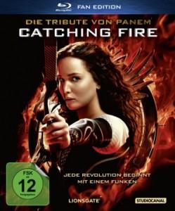 """Das Blu-ray-Cover von """"Die Tribute von Panem - Catching Fire"""" (Quelle: StudioCanal)"""