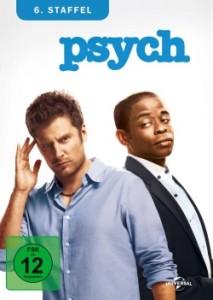 """Das DVD-Cover der sechsten Staffel von """"Psych"""" (Quelle: Universal Pictures)"""