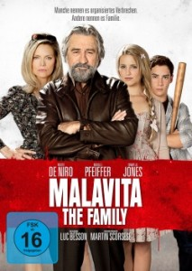 "Das DVD-Cover von ""Malavita - The Family"" (Quelle: Universum Film)"