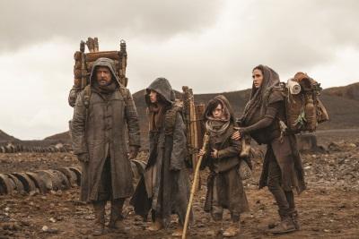 Noah mit seiner Familie auf der Reise (Quelle: Paramount Pictures)