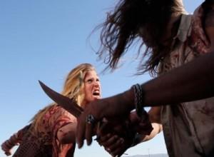 Zoe im Kampf gegen einen ihrer Peiniger (Quelle: Ascot Elite)