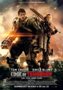 "Das Plakat von ""Edge of Tomorrow"" (Quelle: Warner Bros. Pictures)"