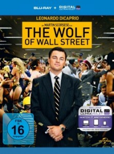 """Das Blu-ray-Cover von """"The Wolf of Wall Street"""" (Quelle: Universal Pictures)"""