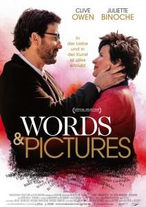 """Das Plakat von """"Words and Pictures"""" (Quelle: Senator Film)"""