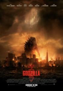 """Das Kino-Plakat von """"Godzilla"""" (Quelle: Warner Bros. Pictures)"""