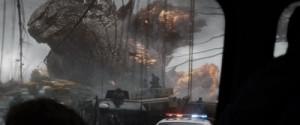 Das Militär versucht, gegen Godzilla zu bestehen (Quelle: Warner Bros. Pictures)