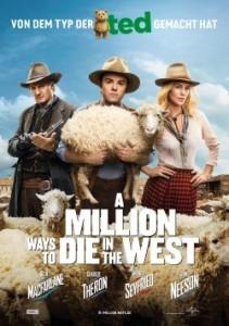 """Das Plakat von """"A Million Ways To Die In The West"""" (Quelle: Universal Pictures)"""