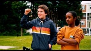 Ethan und Jaden arbeiten für das gemeinsame Ziel (Quelle: Universum Film)