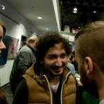 Auf dem Empfang nach der Premiere trafen wir auch zufällig Youtube Star Julian Weissbach aka Julez (Quelle: LeinwandreporterTV)