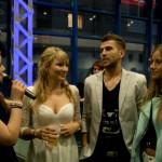 Svea spricht mit Kathrin Bolle, Michael Bruch und Ricarda Dufentester. (Quelle: LeinwandreporterTV)