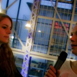 Unsere zwei bezaubernden Moderatorinnen bei ihrer Abmoderation (Quelle: LeinwandreporterTV)