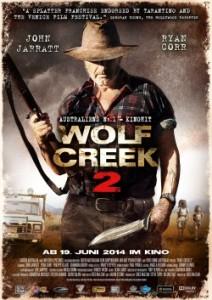 """Das Plakat von """"Wolf Creek 2"""" (Quelle: KSM Film)"""
