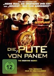 """Das DVD-Cover von """"Die Pute von Panem - The Starving Games"""" (Quelle: Universum Film)"""