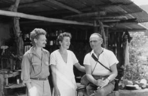 Dore Strauch, Friedrich Ritter und Capt. Hancock (Quelle: Zeitgeist Films)